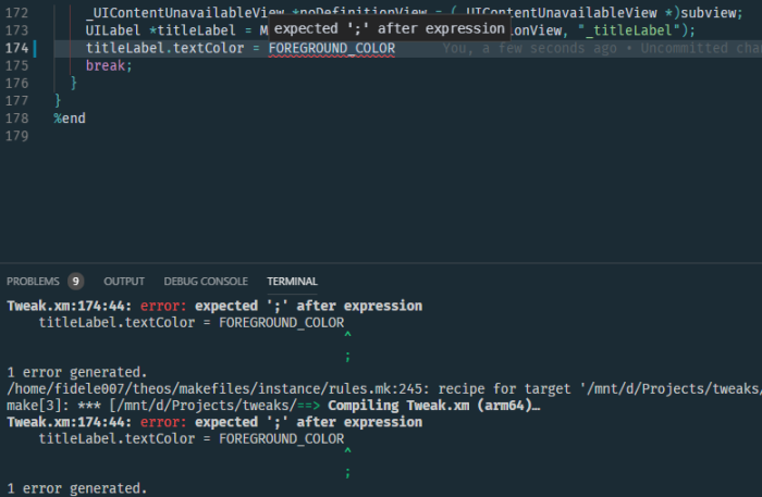 theos_with_vscode